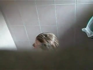 Shower voyeur filestube Public shower - voyeur busted heyyy :-