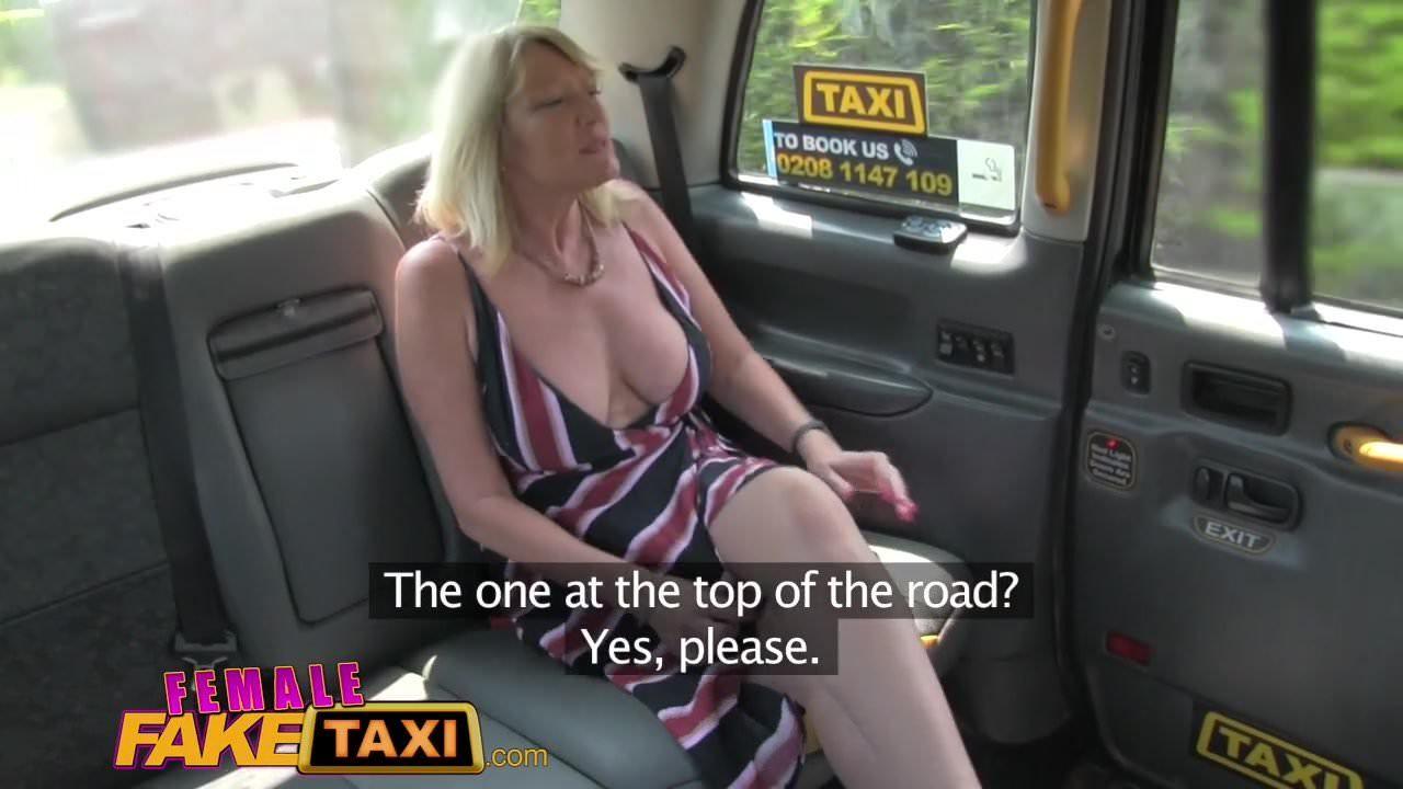 Fake Taxi London Blonde