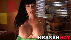Krakenhot - Big Tits Suhayla Hard twerking and blowjob