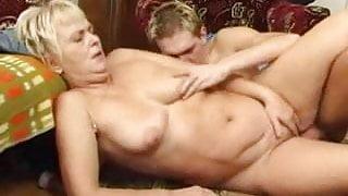 Granny Fucks the Boy