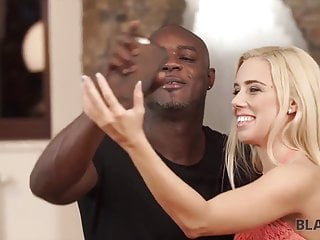 Gay black on white video - Black on white porn video of athletic guy and blonde chick