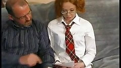 SB3 Stepdad Helps Her Study Then Persuades Her To Fuck !