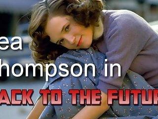 Sex futur video Lea thompson in back to the future