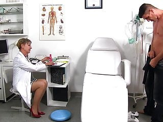Dr bergmann cock Dr. anthonia loses self-control at the sight of a large