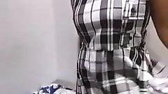 wife at fit on room nugegoda