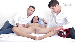 CMNF Fingered by Two Guys (Part 2)