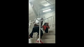 Fucking in the Stairwell