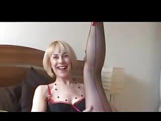 Hazel mae mature naked - Hazel stockings tease