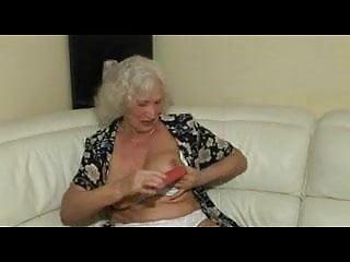 Sweaty slut - Granny norma gets sweaty