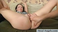 Obviously, Jana loves getting her ass banged!