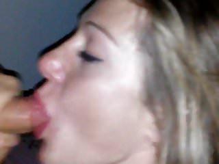 Dick suck whore - Blonde whore sucks dick