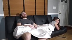 Brother & Stepsister Watch a Movie – Miss Brat - Family Therapy