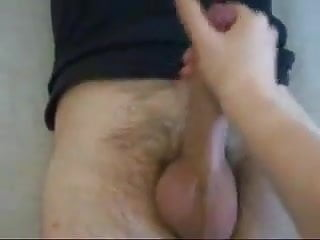 Hands ache cannot make fist - Great hand job makes the hard cock shoot