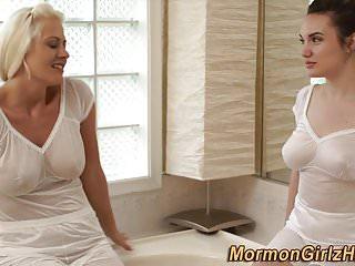 Missionaries porn videos Bathing mormon missionary