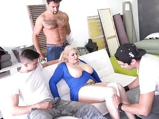 Boy and mother sex - Boys make gangbang for big mature mothers