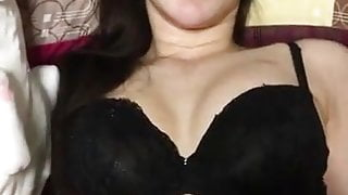 fucked a Chinese woman in a beautiful bra