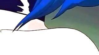 Cartoon Lesbian Strap On
