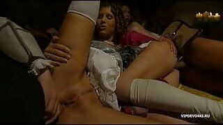 Medieval sex orgy.