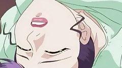 Hentai- Grandpa has a nice fuck