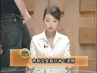 Nude newsreader Asian newsreader bukkake 1