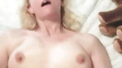 Fucking Blonde Mature with Bouncing Natural Titties