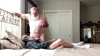 Step DaddyBud Gets a 65th Birthday Breeding