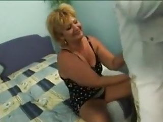 Lesbian grandmothers seduce young Blonde grandmother seduced by young sailor