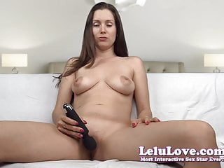Girl using vibrator on clit - Lelu love-vibrator on clit dildo in pussy big orgasm