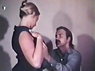 Sat vintage earrings - Vintage - hairy secretary takes a cumshot in her ear