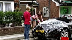 Helen Flanagan Carwash