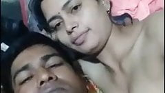 Indian wife boobs suck by husband part 1