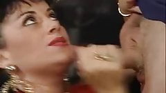 Vintage Elodie French saggy Tits Stockings Anal
