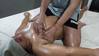 Massage of squirting #7 part 2