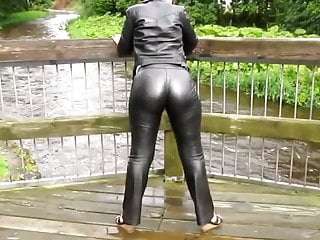 Smith james sixty six ten gay Leather eva in skintight miss sixties