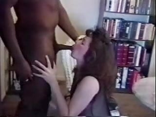 At home sperm calculating White wife fucks black bull at home