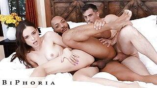 BiPhoria - Wife Shares Bi-Curious Husband With Friend
