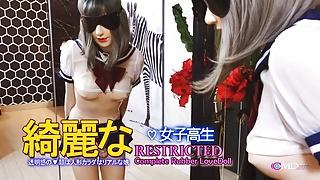 Uniform Girls Latex Doll Blowjob japan babe Restricted
