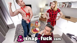 My wife is getting fucked: LUCY HEART - SNAP-FUCK.com