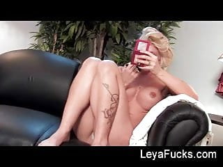 Adult big boob milf Big boob milf teaches hot blonde to never be late again