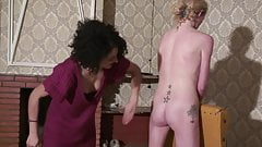 Lezdom - Ass Spanking