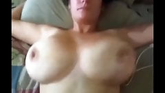 Big Boobs Milf Take Cumshot On Her Body
