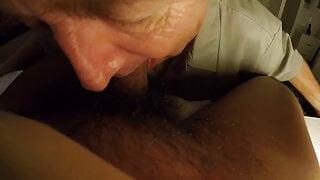 SilverDaddy Deep Throat session Part 1