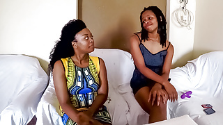 Ebony Amateur Masseuse Gives Free Oral Pleasure