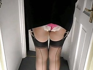 Vintage stocking tops videos girdlequeens - Miniskirt stocking tops and knickers