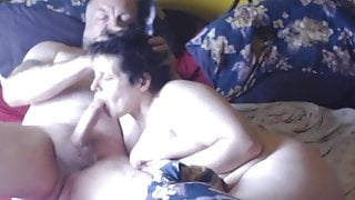 Daddy gets sucked on cam