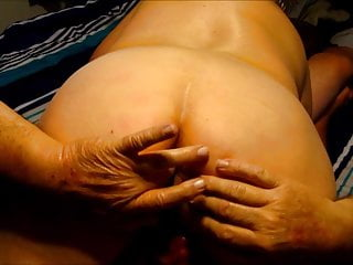 Cougar likes her ass worshipped Wife likes her ass fingered. more fingers the merrier