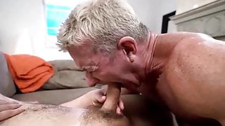 He gets plowed by his jock step-son