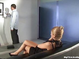 Big cock gay creampie galleries Busty blonde fucked in an art gallery