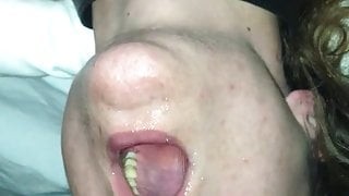 Throat banging 23 year old on first date