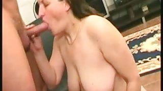 Horny saggy mature toying and fucking
